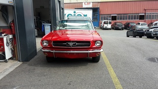 Ford Mustang - Carrosserie MC Auto - Morges
